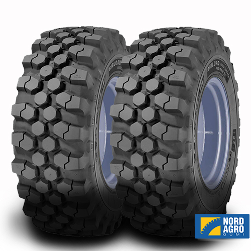 340/80R18 Michelin Bibload Hard Surface 143A8/143B