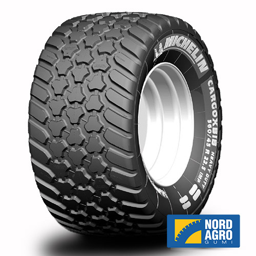 500/60R22.5 Michelin Cargoxbib Heavy Duty  155D