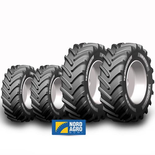 540/65R34 Michelin Multibib 145D  és 620/70R42 Michelin Omnibib  160D  garnitúra
