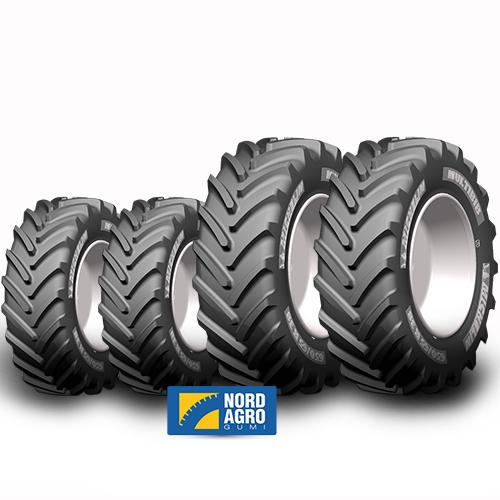 480/65R24 Michelin Multibib 133D  és 540/65R38 Michelin Multibib  147D  garnitúra