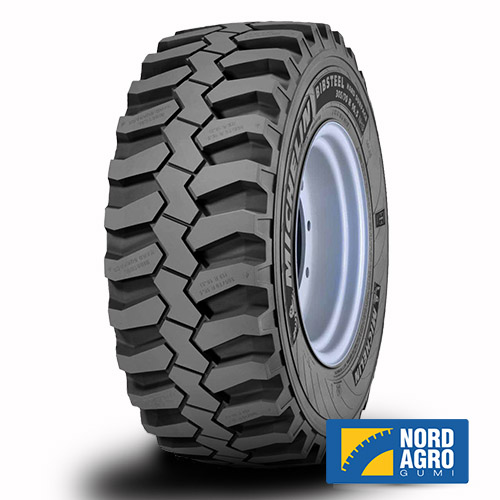 260/70R16.5 Michelin Bibsteel Hard Surface 129A8/129B
