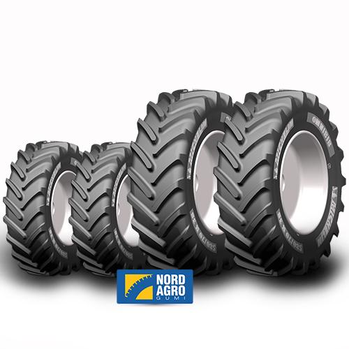 380/70R24 Michelin Omnibib  125D  és 480/70R34 Michelin Omnibib  143D  garnitúra