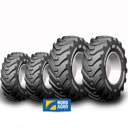340/80-18 Michelin Power CL  143A8  és 480/80-26 Michelin Power CL  167A8  garnitúra